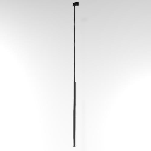 Závesná dráha NER 600, max. 1x2,5W, G9, 230V, čierny drôt, grafitovo sivá (lesklá) RAL 7024