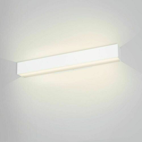 Lineárne nástenné svietidlo hore / dole so vzdialenosťou LUPINUS / K SQ UP D 115 L-2620 DP