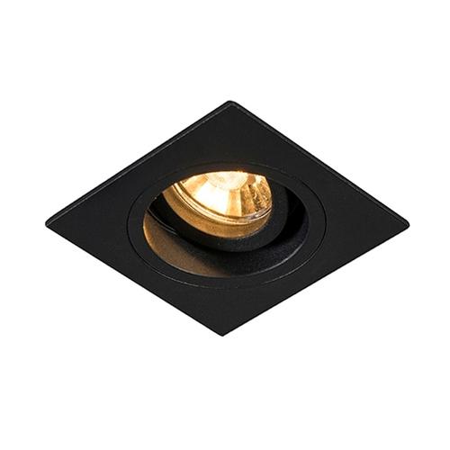 H 92704 Chuck Dl Square Spot Black / Black