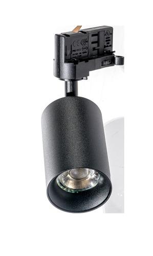 Reflektor pre dráhu Azzardo EIGER 3LINE GU10 BK