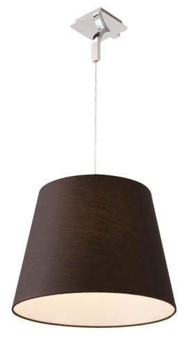 Závesná lampa Denver čierna