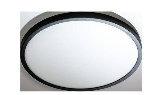 Stropné svietidlo Azzardo MALTA R 40 3000K BK