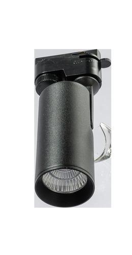 Reflektor pre dráhu Azzardo KIRKE 1LINE 10W CCT BK