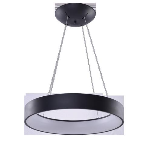 Závesná lampa Azzardo SOLVENT R 110 BK + DIAĽKOVÉ OVLÁDANIE
