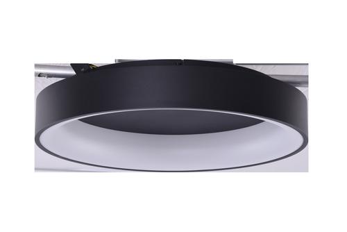 Stropné svietidlo Azzardo SOLVENT R 45 BK + REMOTE CONTROL