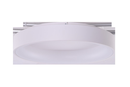 Stropné svietidlo Azzardo SOLVENT R 80 WH + REMOTE CONTROL
