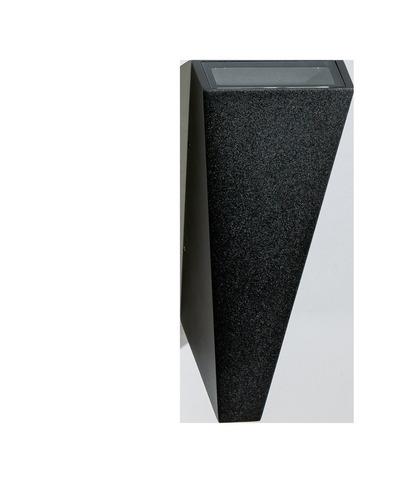 Nástenné svietidlo Azzardo ZITA XL BK
