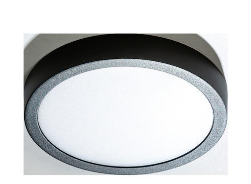 Stropné svietidlo Azzardo MALTA R 23 4000K BK
