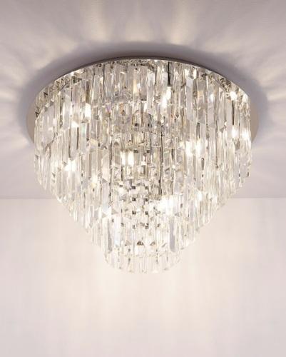 Moderný strop Crystal Fontaine