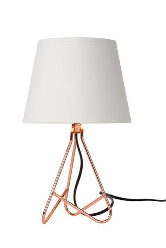 Stolná lampa GITTA medená