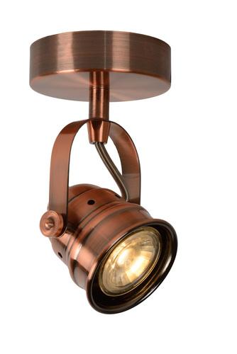 Podkrovný signál z kovového medeného svetlometu