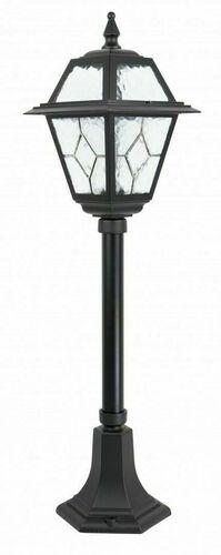 Malý záhradný lampáš s farebným sklom (80 cm) - K 5002/3 N