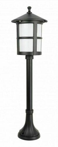 Záhradná lampa na nízkom stĺpiku s vitrážou (71 cm) - Cordoba II K 5002/3 / TD