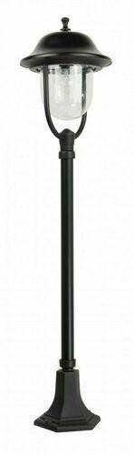 Klasická čierna záhradná lampa PRINCE K 5002/2 / O