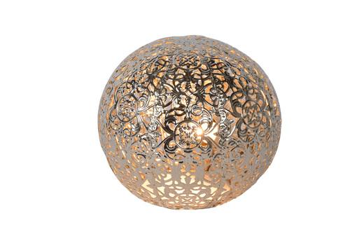 Stolová lampa POLO strieborná kovová G9