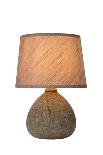 RAMSEY II hnedá stolová lampa E27