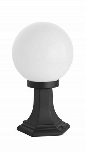 Stála záhradná latarenka s 1bodovou guľou (36cm) - K 4011/1 / K 200