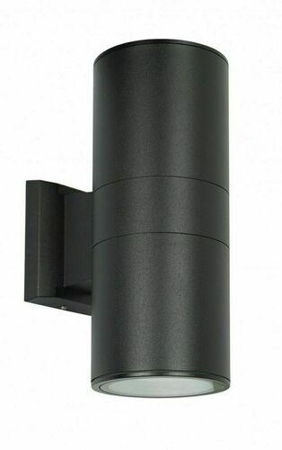 Vonkajšie nástenné svietidlo na fasádu Adela 7001 BL 2x60W