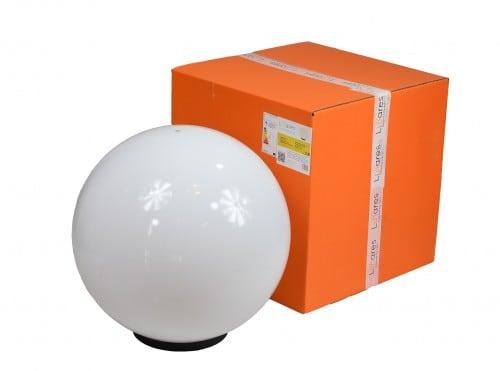 Záhradná lampa Luna ball 50 cm, záhradná lopta, žiariaca guľa, klasický štýl, biela