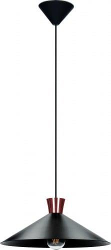 Podkrovná kovová lampa