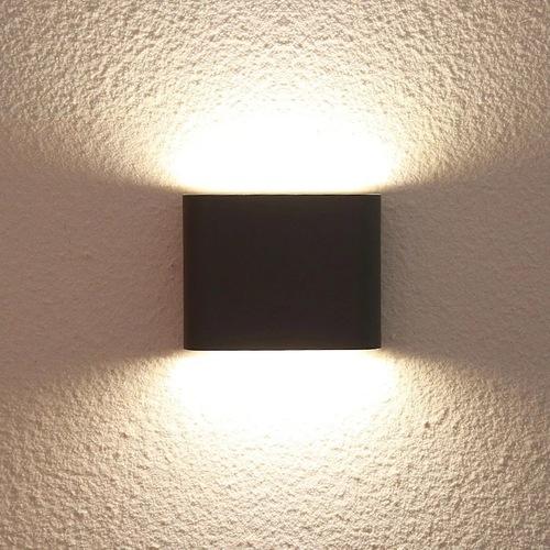Vonkajšie nástenné svietidlo Sapri čierne IP54