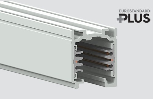 Kmeňová lišta EUROSTANDARD PLUS dĺžka 100cm (RAL 9005) STUCCHI čierna