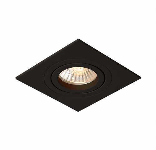Bodové svietidlo Metis 1 skryté čierne GU10