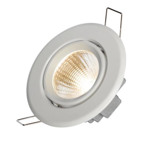 Drôty II 6 W Cob 38 St 230 V Nw Očko s LED krúžkom BIELE