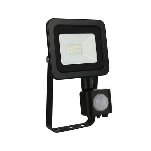 Noctis Lux 2 Smd 230 V 10 W Ip44 Cw čierna so senzorom