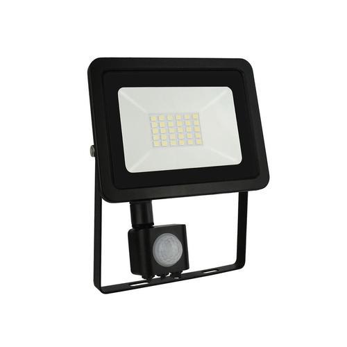 Noctis Lux 2 Smd 230 V 20 W Ip44 Ww čierna so senzorom