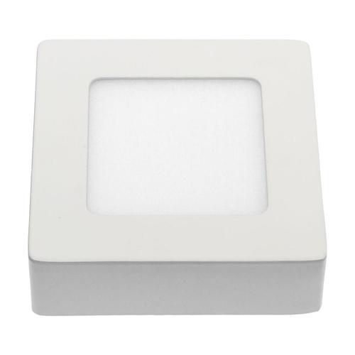Algine Eco Led Square 230 V 6 W Ip20 Cw Strop BIELY povrchový rám