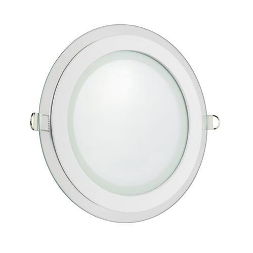 Drôty Eco LED okrúhle 230 V, 6 W, stropné sklenené oko Ip20 Cw