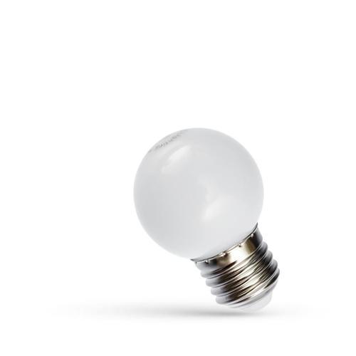 LED žiarovka Garland 1W E27 studená biela