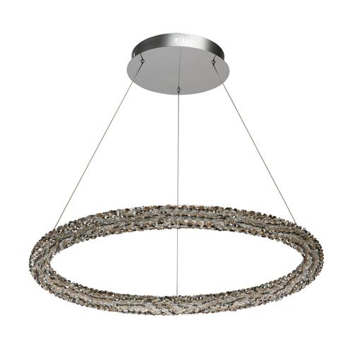 Závesné svietidlo Goslar Crystal 1 Chrome - 498014101
