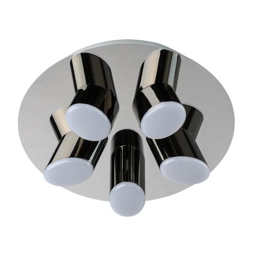 Závesná lampa Flensburg Hi-Tech 5 Chrome - 609013605