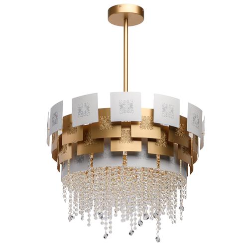 Závesné svietidlo Carmen Crystal 6 Gold - 394011006