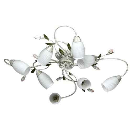 Závesné svietidlo Verona Flora 8 White - 334013908