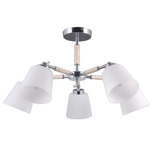 Závesná lampa Forest Megapolis 5 Chrome - 693012205