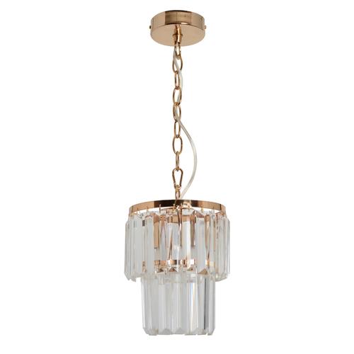 Závesná lampa Adelard Crystal 1 Gold - 642014301