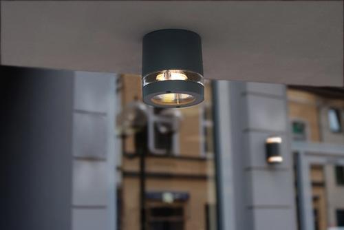 Vonkajšie stropné svietidlo Lutec FOCUS