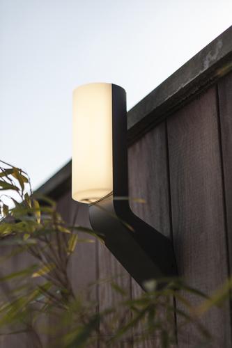 Moderné vonkajšie nástenné svietidlo Lutec BATI