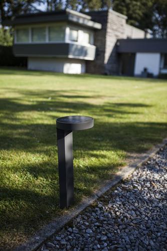 Slnečný záhradný stĺpik Lutec DISO