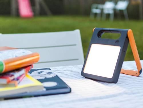 Prenosná solárna lampa s USB Lutec PADLIGHT