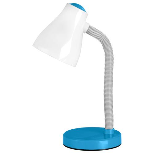 Stolná lampa EVA 15W E30 modrá