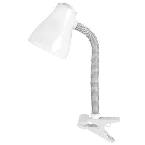 Stolná lampa MIA 15W E30 Biela