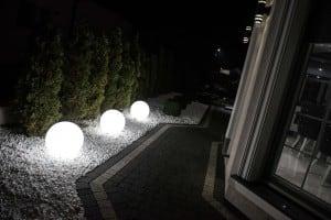Elektrická guľa - Flexi Ball Electric 50 cm s káblom a žiarovkou small 3