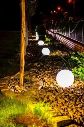 Elektrická guľa - Flexi Ball Electric 50 cm s káblom a žiarovkou