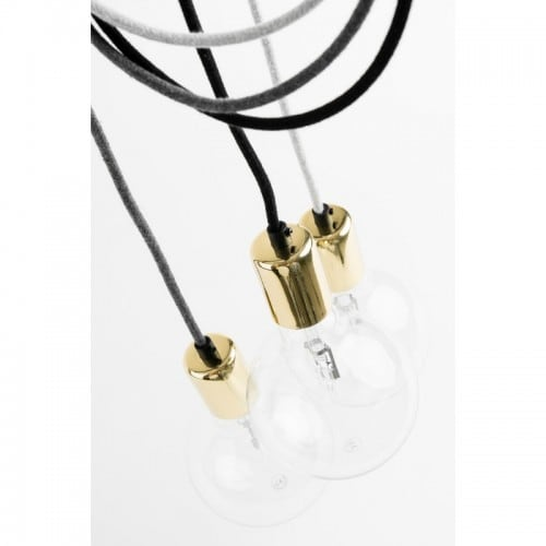 Závesná lampa Loft Elite Line Gold