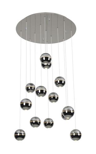 Závesná žiarovka Zen 13 chróm P0317 Max Light