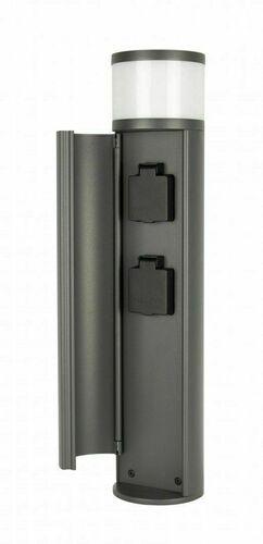 Osvetľovací stĺp ELBORN EL3113 s elektrickými zásuvkami